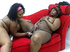 Black fat chicks cum over and over again