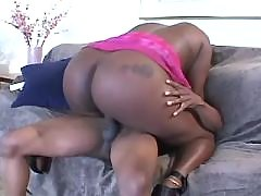 Appetizing black fatty goes naughty