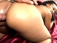 Sex adventure with hot black fatty